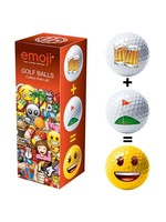 Emoji Novelty Assorted Golf Balls [3] (2021)