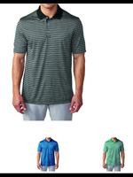 Adidas Adidas Tournament 3-colour Stripe Polo Shirt. Green/ Clear Grey/ Black XL