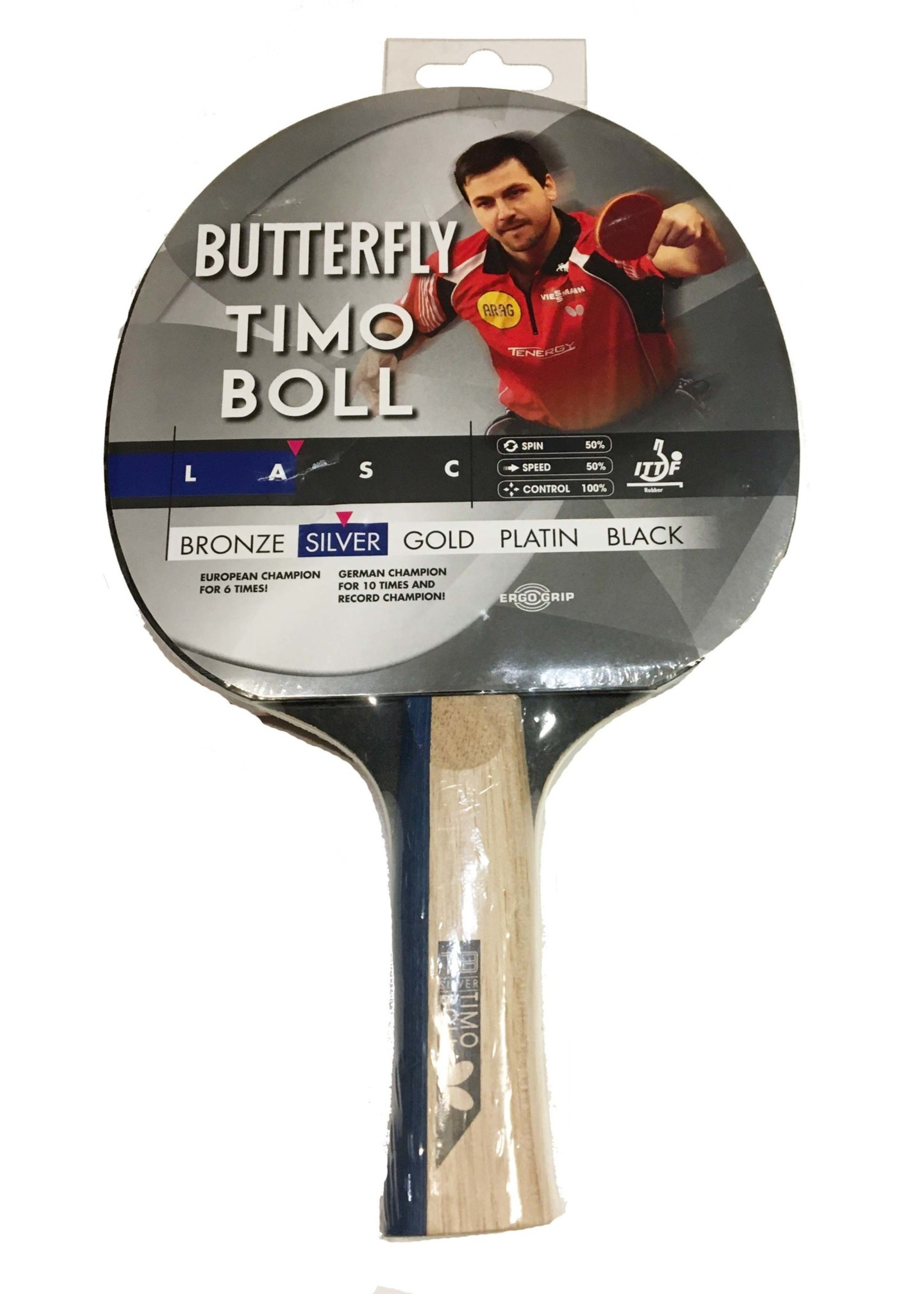 Butterfly Butterfly Timo Boll Silver Table Tennis Bat (2021)