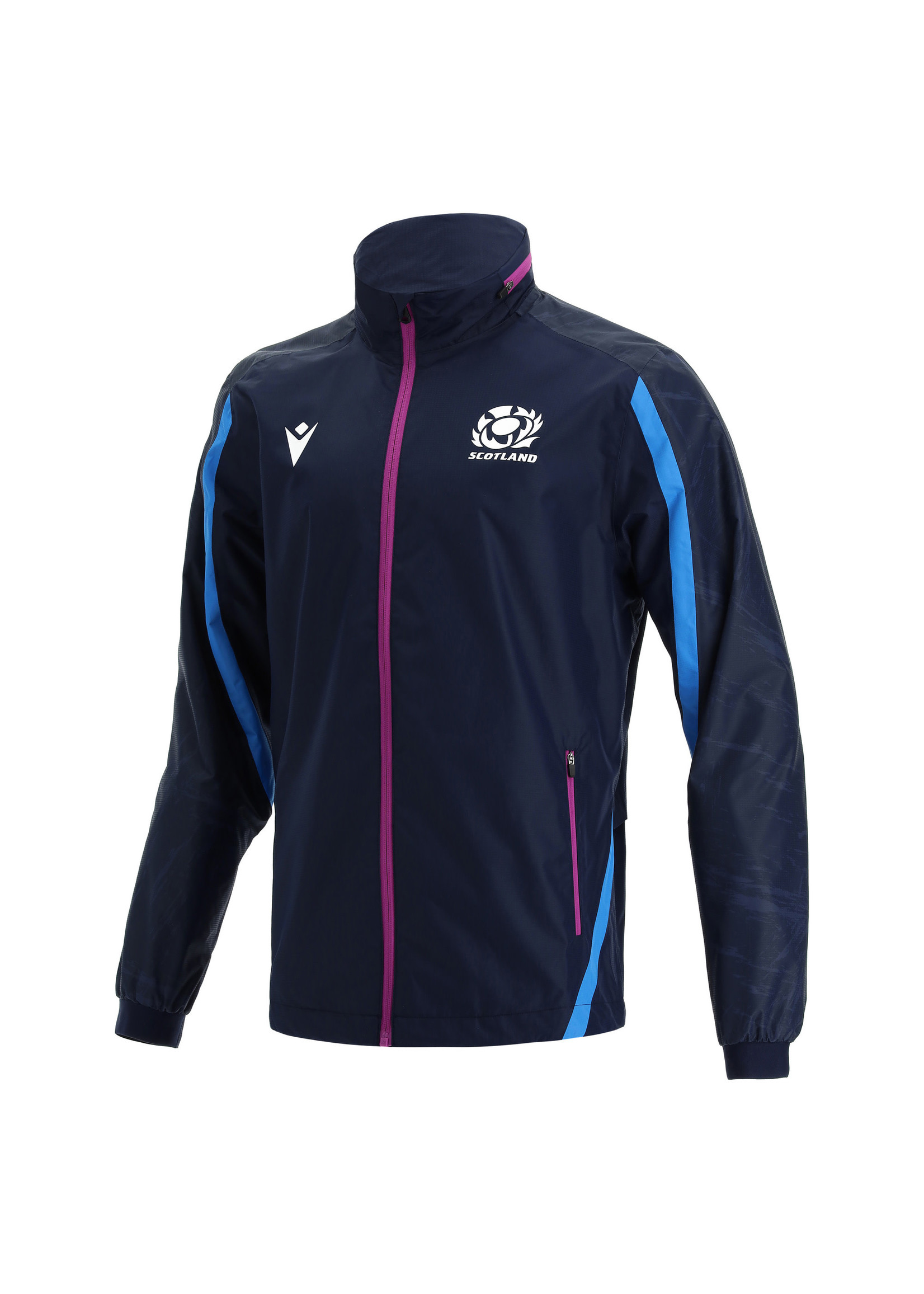 Macron Macron Scotland Rugby - Full Zip Waterproof Jacket (2021/22)