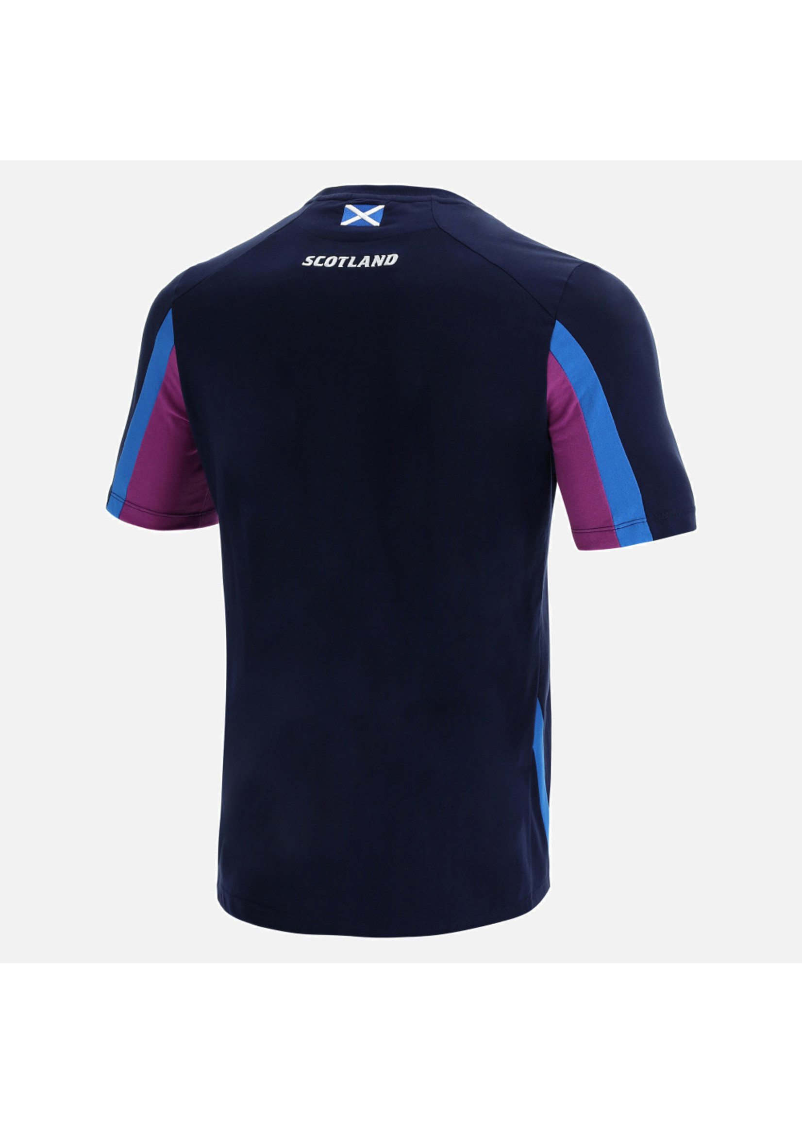 Macron Macron Scotland Rugby - Official Travel T Shirt (2021/22)