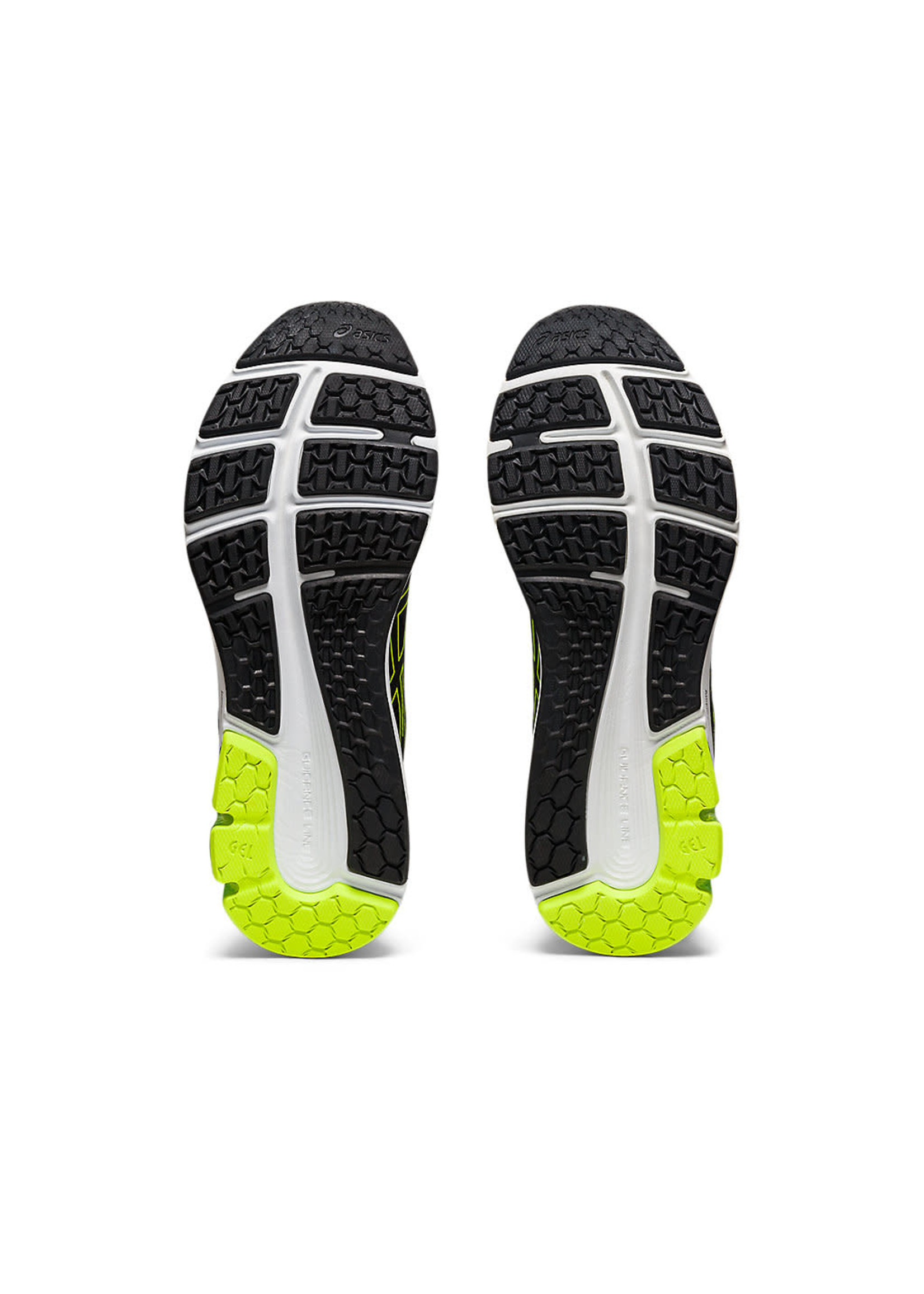 Asics Asics Gel-Pulse 12 Mens Running Shoe, Black/Hazard Green, (2021)