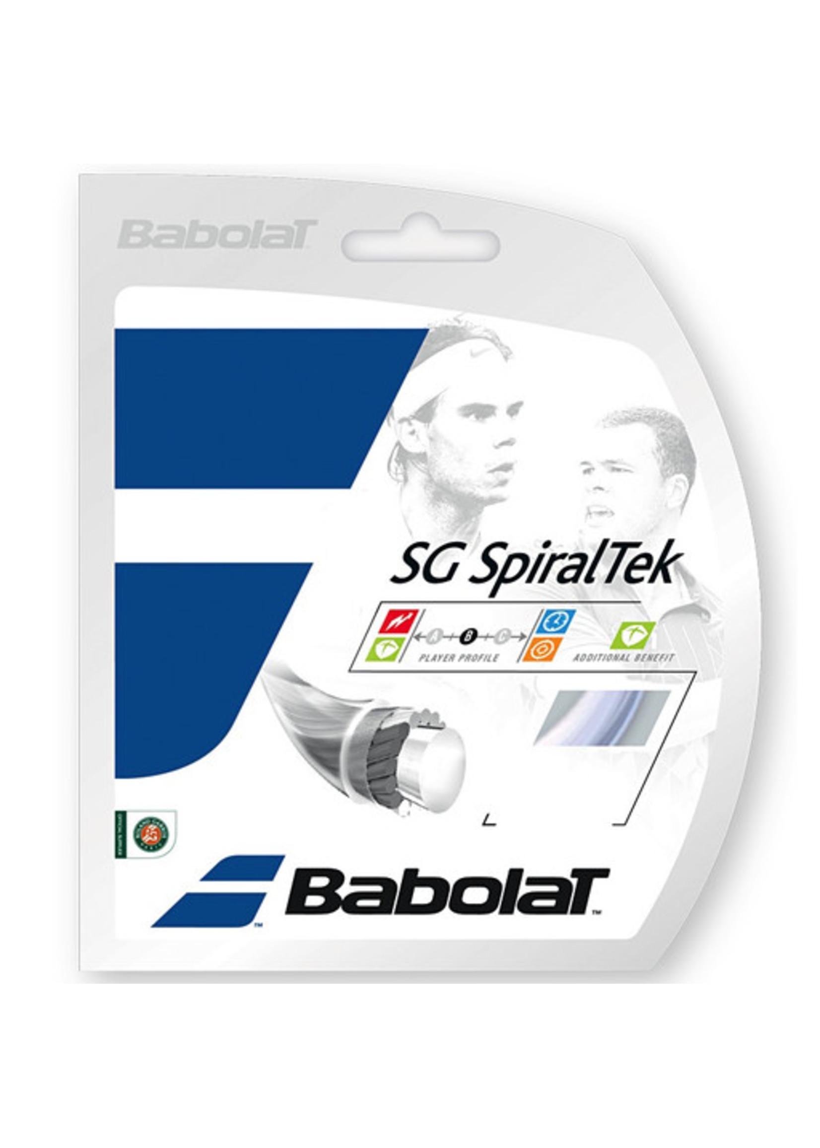 Luxilon Alu Power/ Babolat SpiralTek Restring