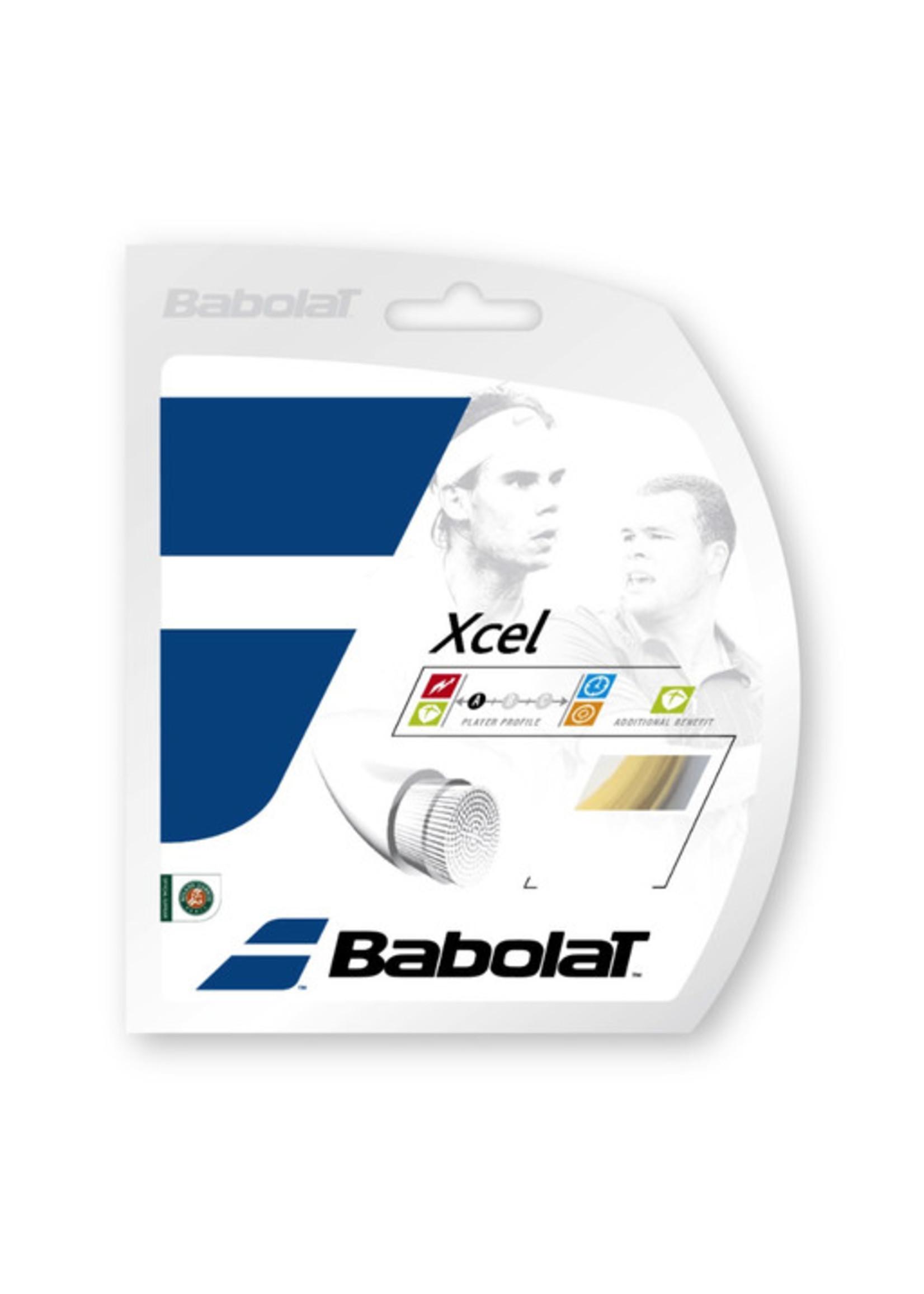 Babolat Pro Hurricane/Xcel Restring