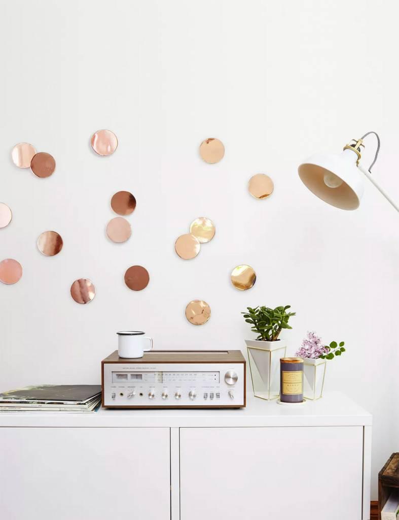 Confetti Dots Copper