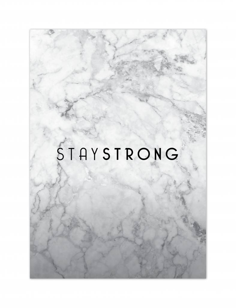 Wenskaartenset marble