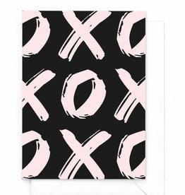 """Wenskaart X&O """"Hugs"""""""