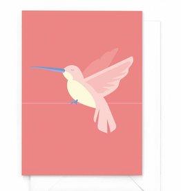 "Wenskaart Tropical-birds ""Kolibrie"""