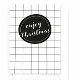 Wenskaart - Kerst - Enjoy Christmas