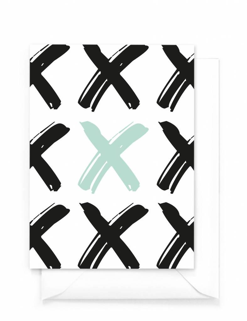 Wenskaartenset X&O