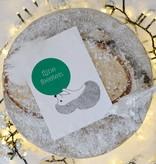 "Wenskaart - Kerst - ""Fijne feesten"""