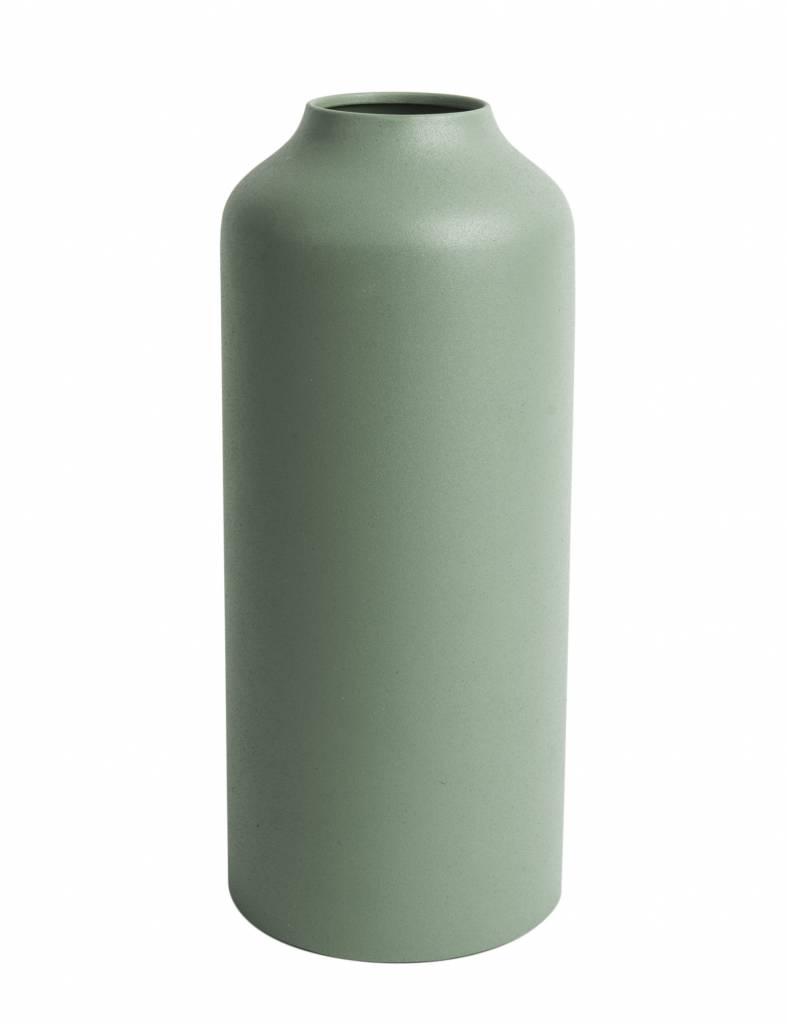 Groene 'Nimble straight large' vaas van Present time
