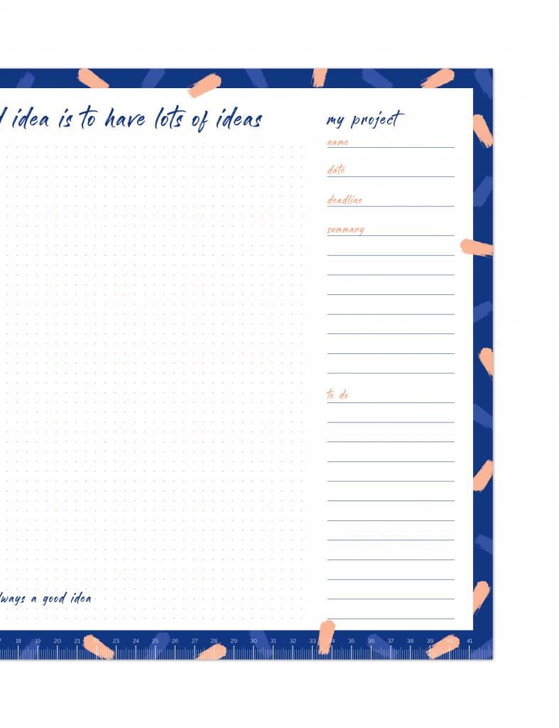 Voor al je projecten! Heel praktisch hulpmiddel voor vergaderingen!