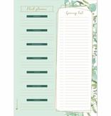 """Botanical stationery """"planning set"""""""