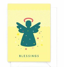 """Wenskaart Kerst  """"Angel"""""""