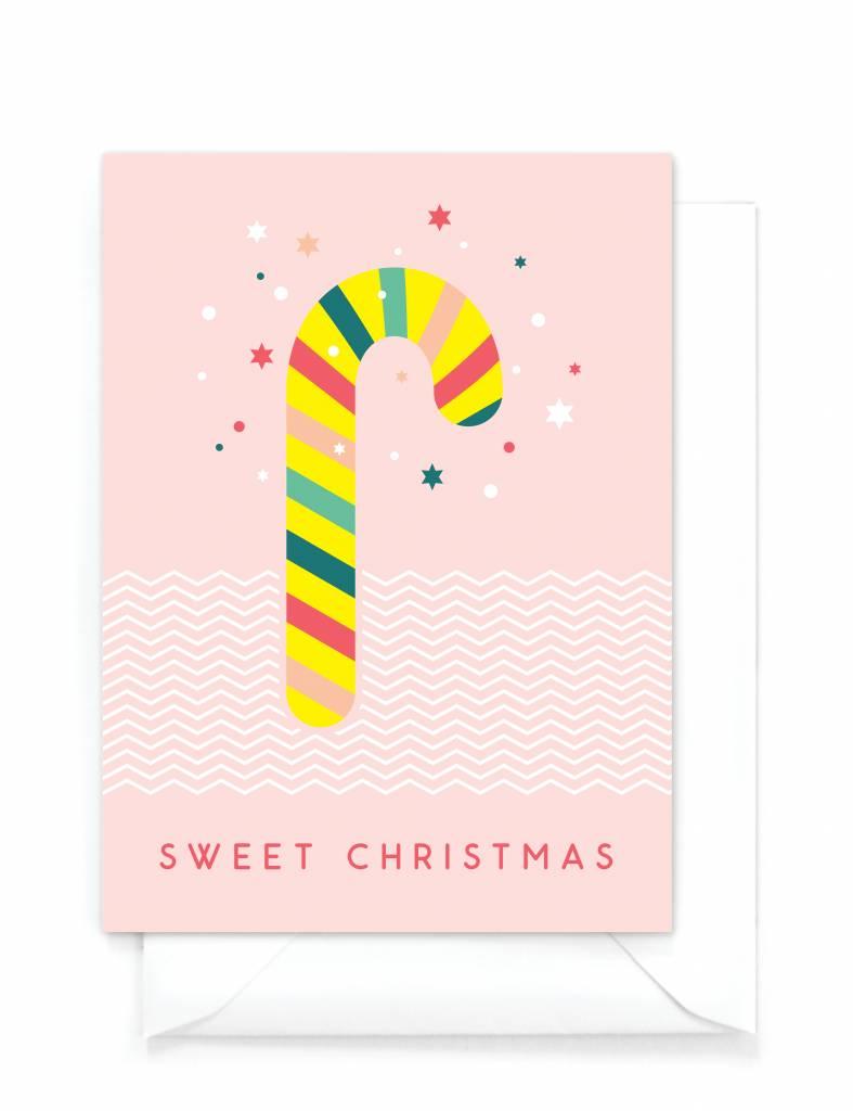 Wenskaartenset Kerst Happy Christmas