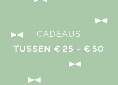€ 25 - € 50