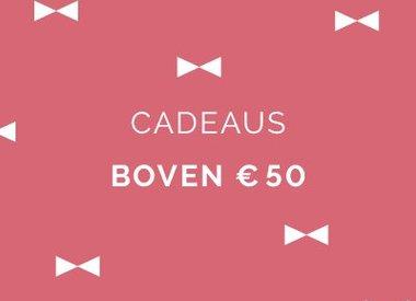 Boven € 50