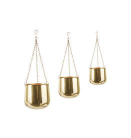 Gouden hangpotten