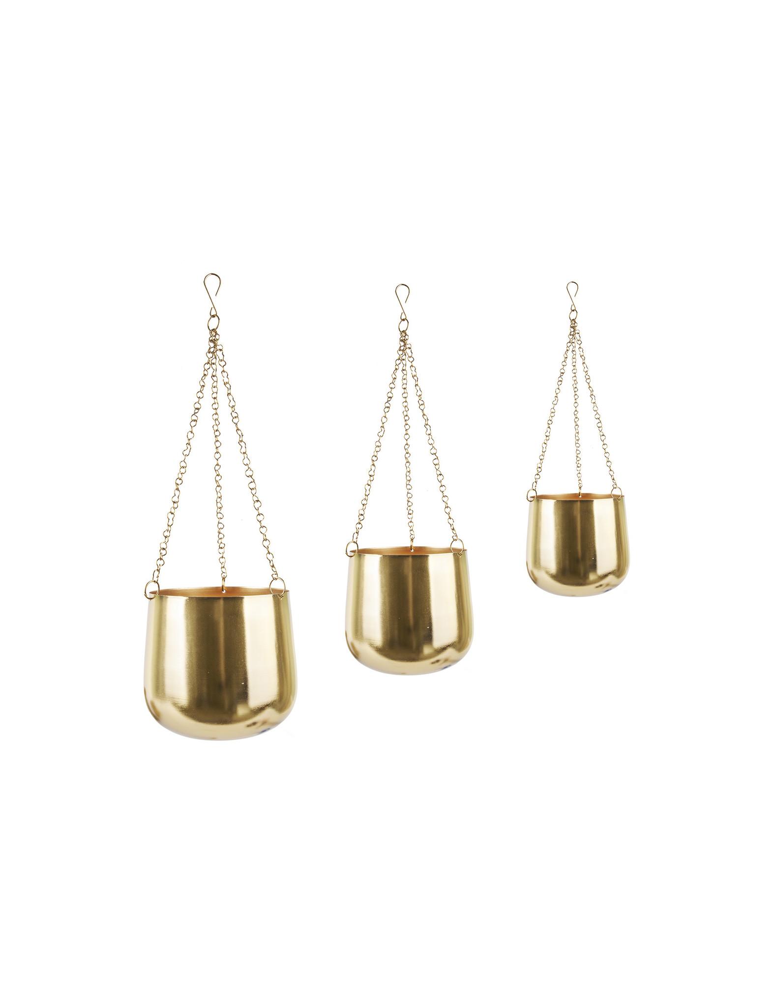 Originele gouden hangpotten van Present Time