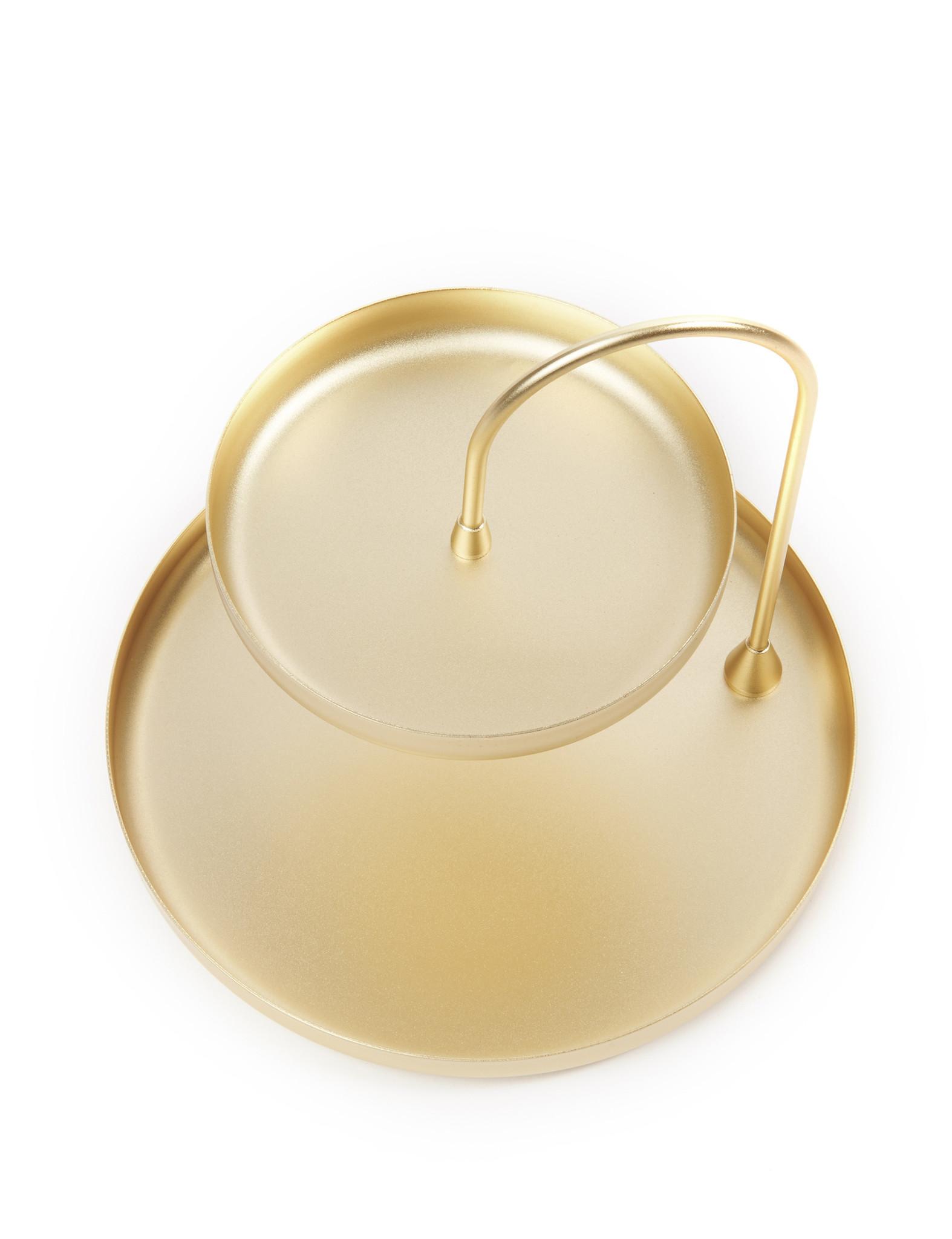Gouden accessoirehouder 'Poise' van Umbra