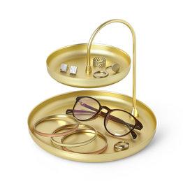 Gouden accessoirehouder