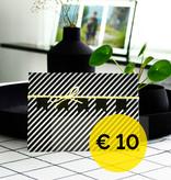 cadeaubon - waarde € 10