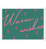 "Wenskaart - Kerst - ""Warm wishes"""