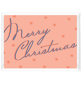 """Wenskaart Kerst """"Merry Christmas"""""""