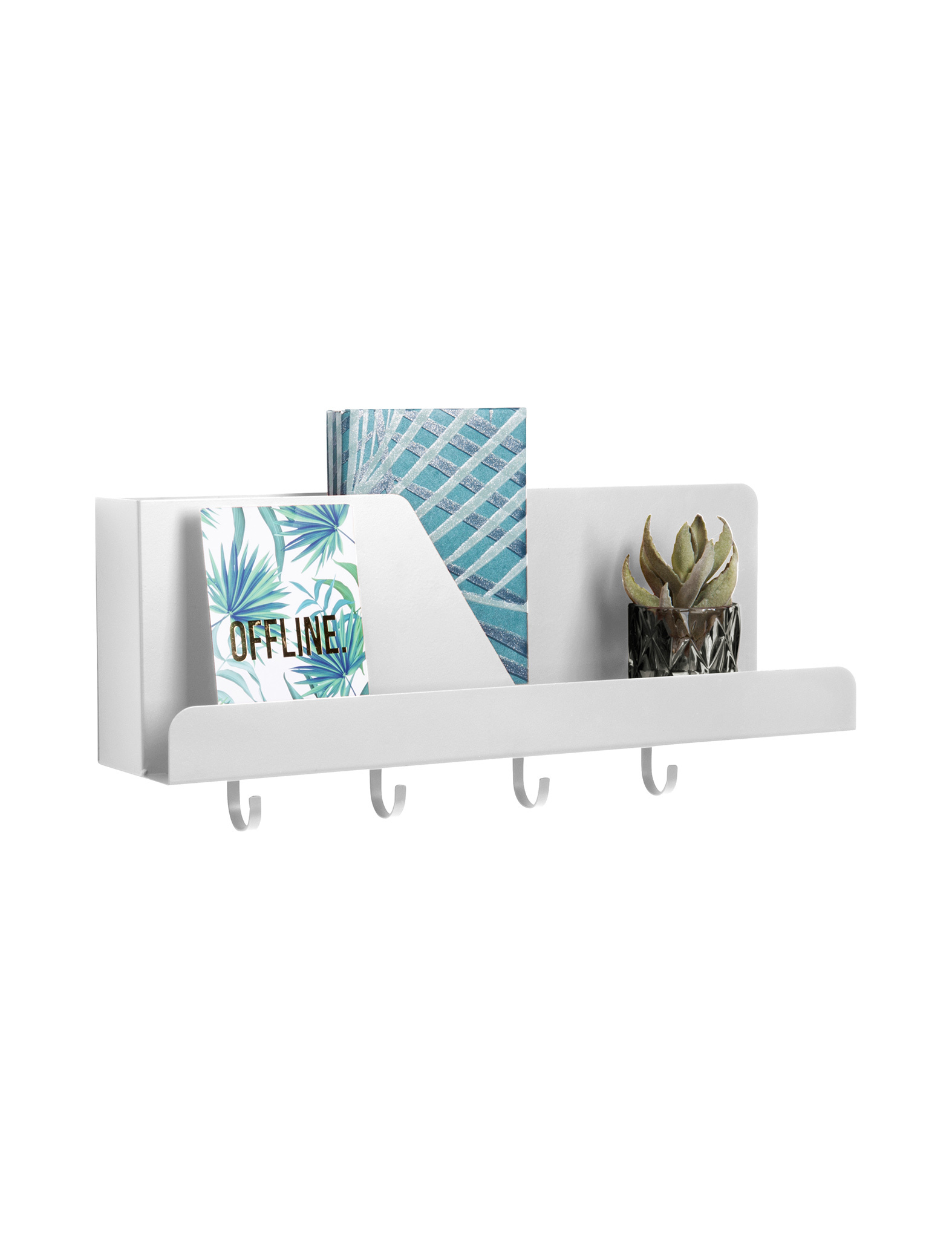 Prachtige witte wall organizer - Present Time