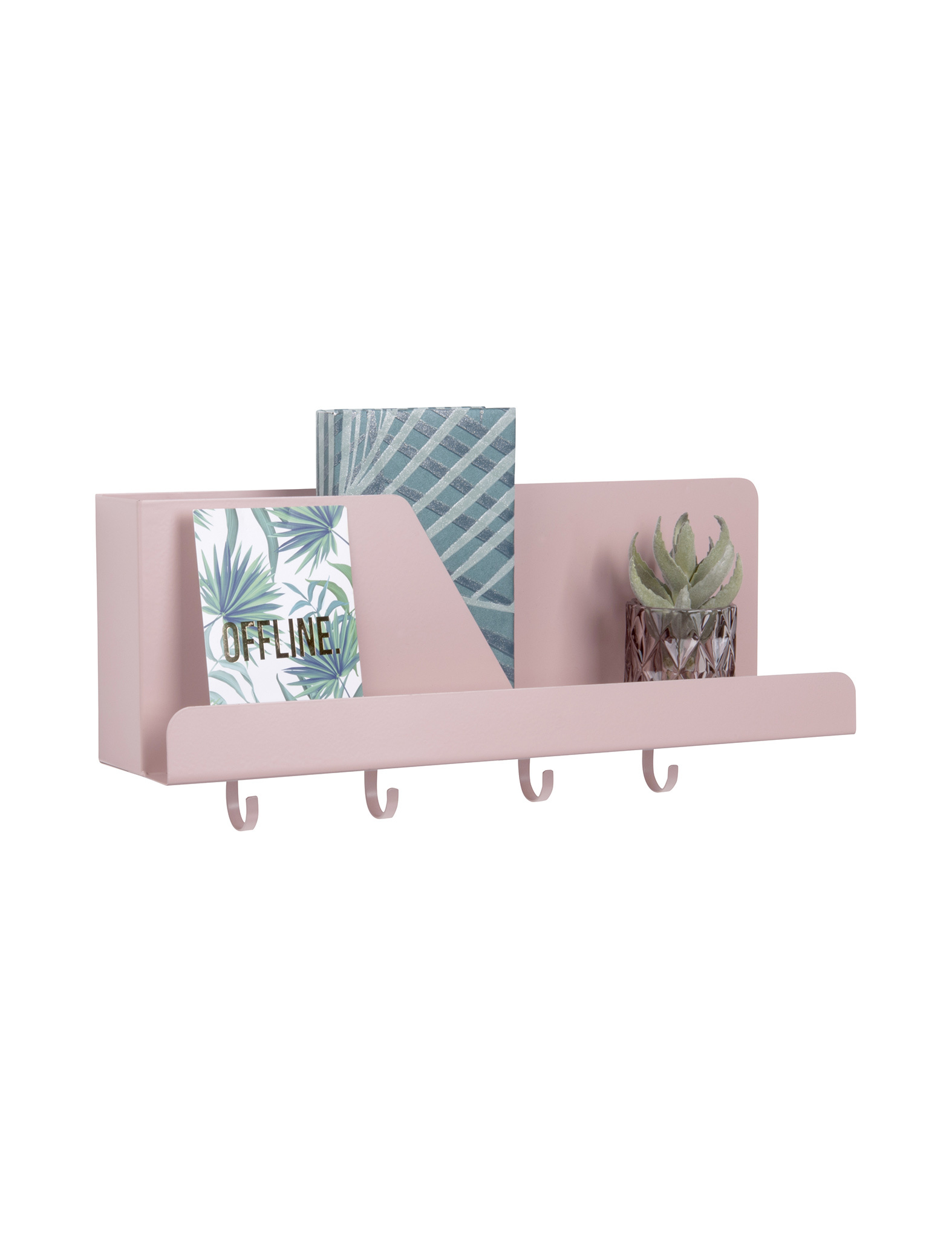 Prachtige Roze wall organizer - Present Time