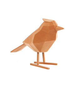 Gele origami vogels