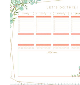 "Botanical ""weekplanner"""