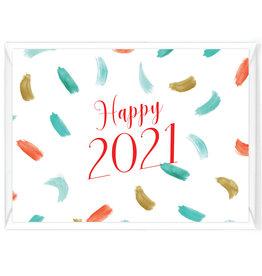 """Wenskaart Nieuwjaar """"Happy 2021"""""""
