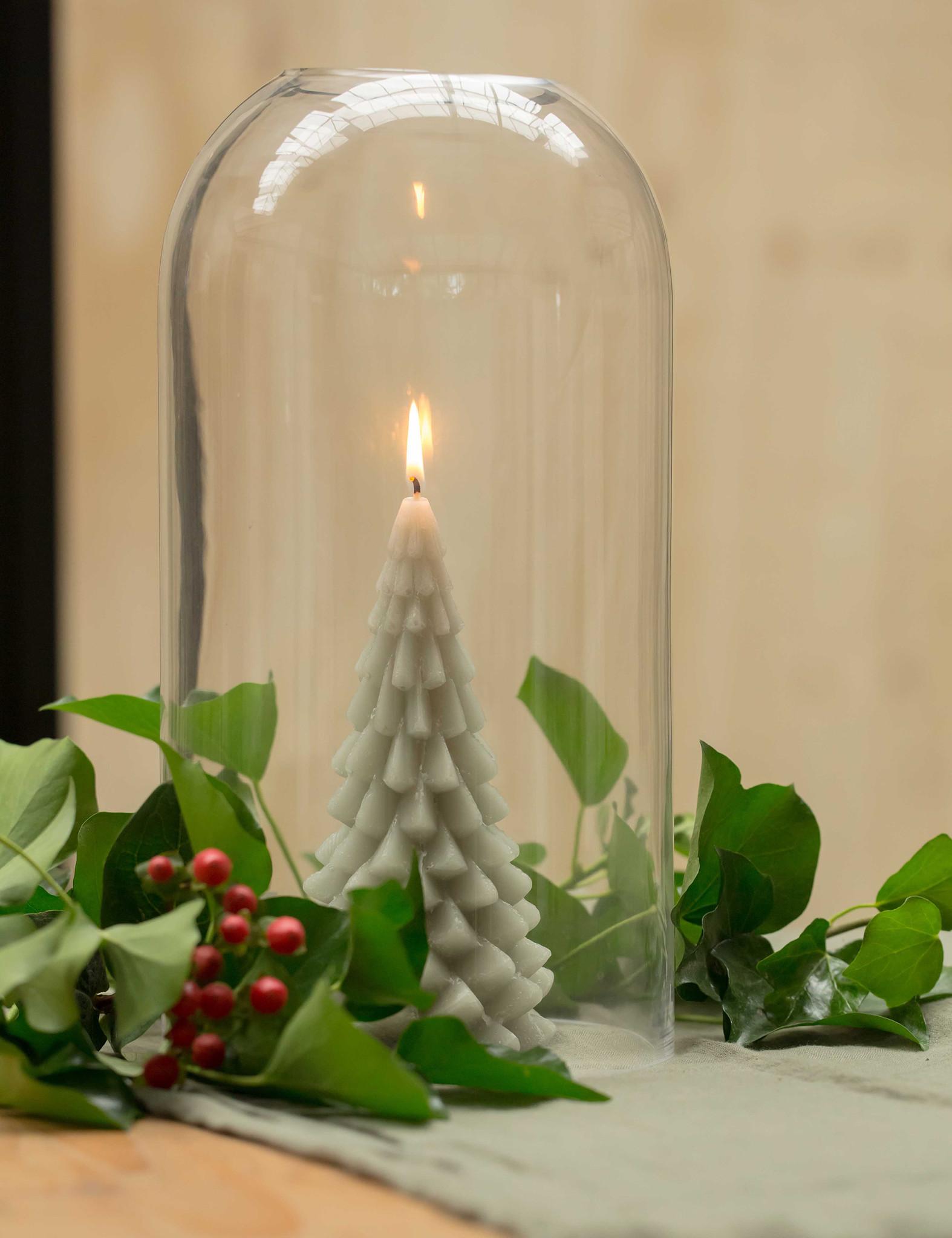 Kerstboomkaars van Rustik Lys voor op de feesttafel