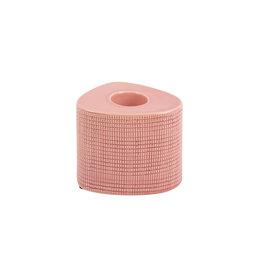 Roze theelicht 'Triangle'