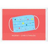 """Wenskaart Kerst """"Merry Christmask"""""""