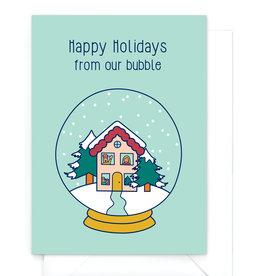 """Wenskaart Kerst """"Happy Holidays"""""""