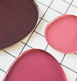 Set van 3 schaaltjes - Roze/paars