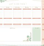 """Botanical """"weekplanner"""" in A3-formaat"""