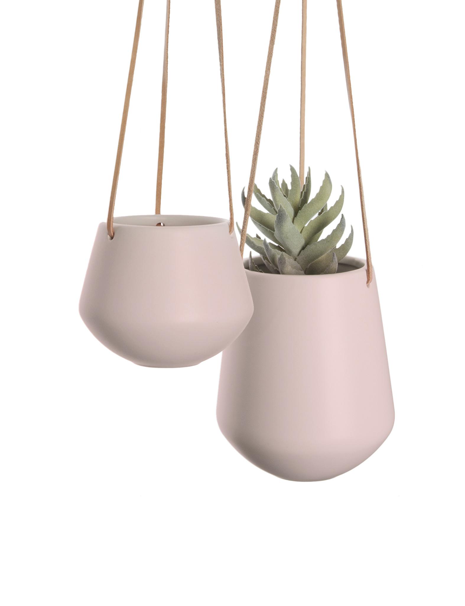 """Hangpot """"Skittle"""" in het roze"""