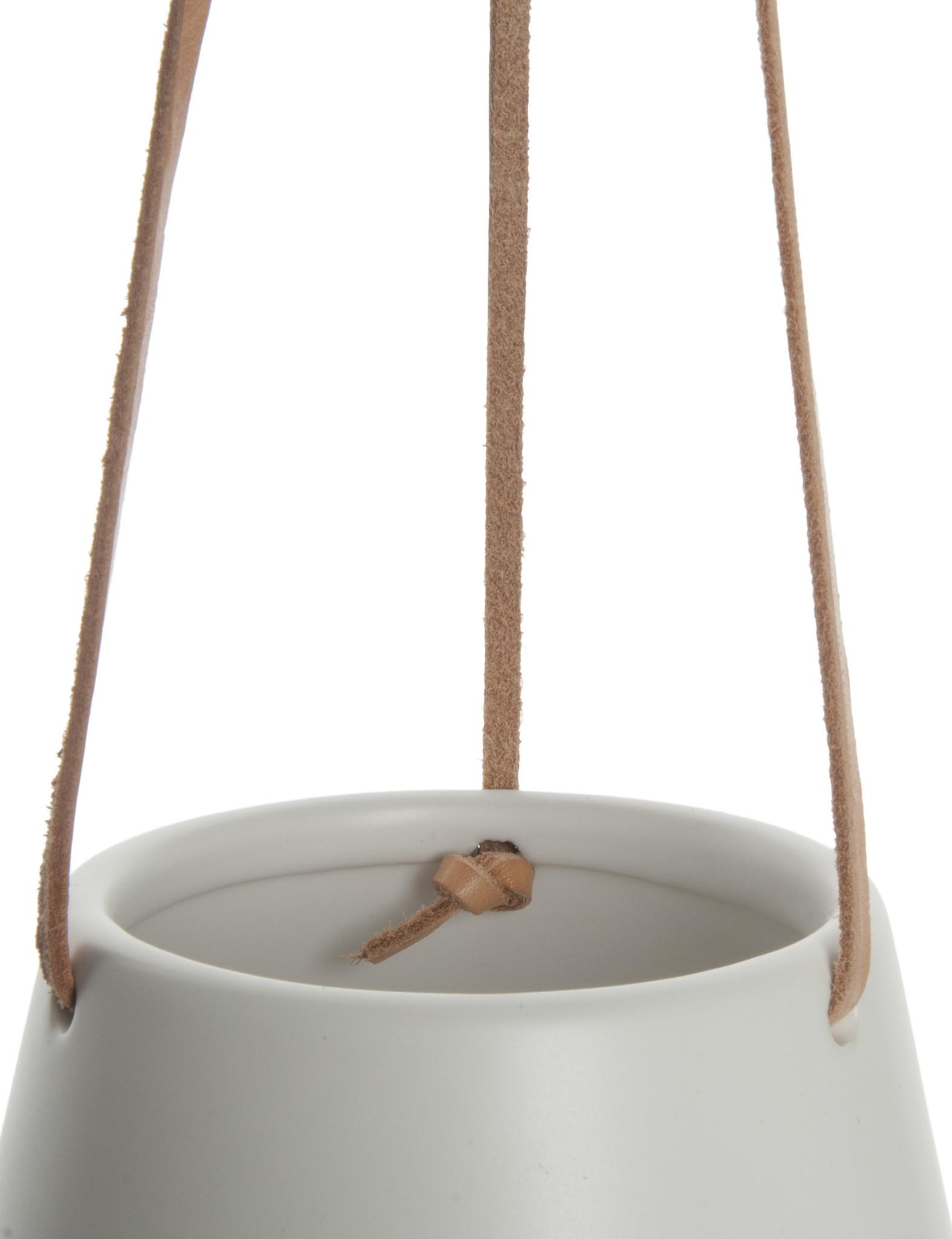 """Hangpot """"Skittle"""" in het wit"""