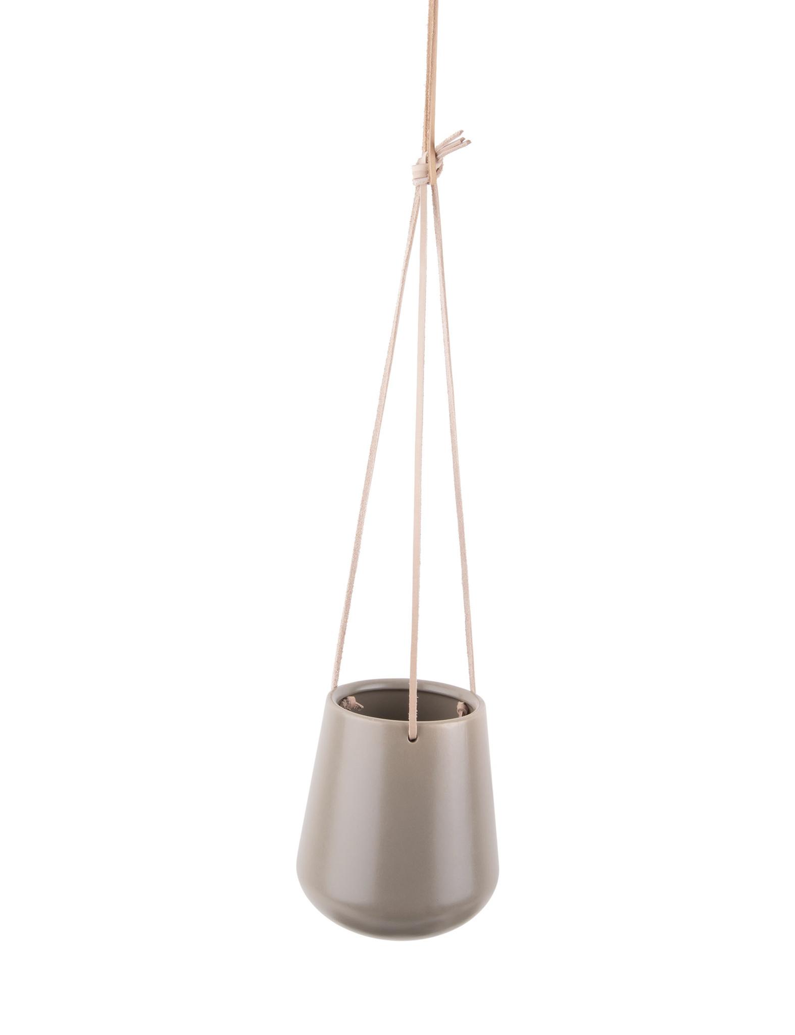 """Hangpot """"Skittle"""" in het warmgrijs"""