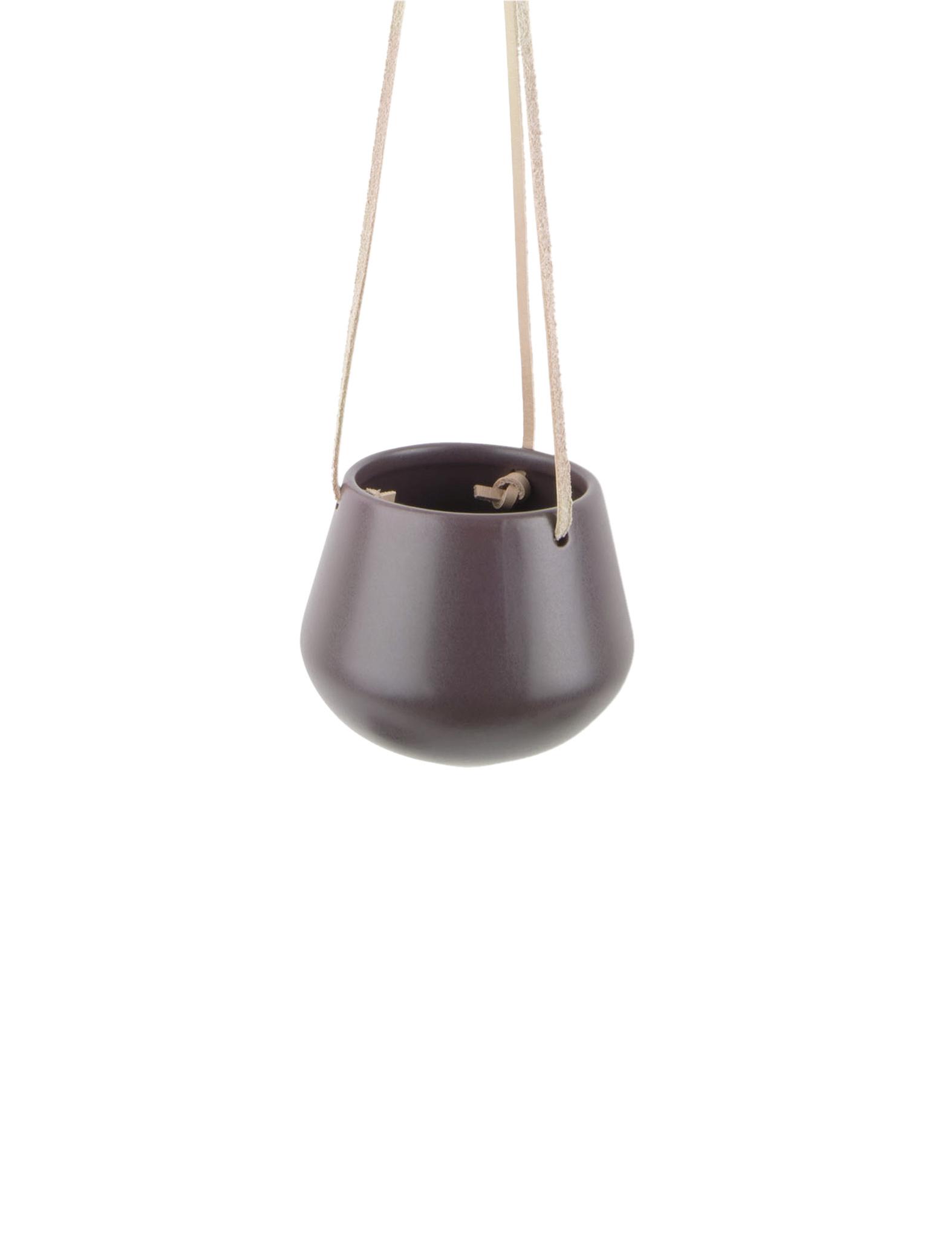 """Hangpot """"Skittle"""" in het Auberginepaars"""