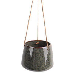"Groene hangpot ""Unique"""
