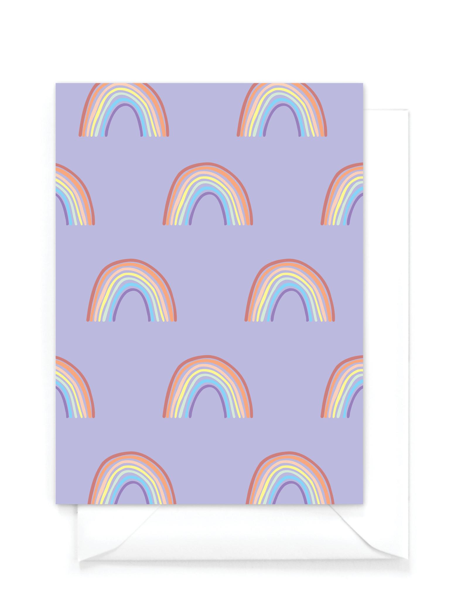"""Wenskaart -  """"Rainbow"""""""