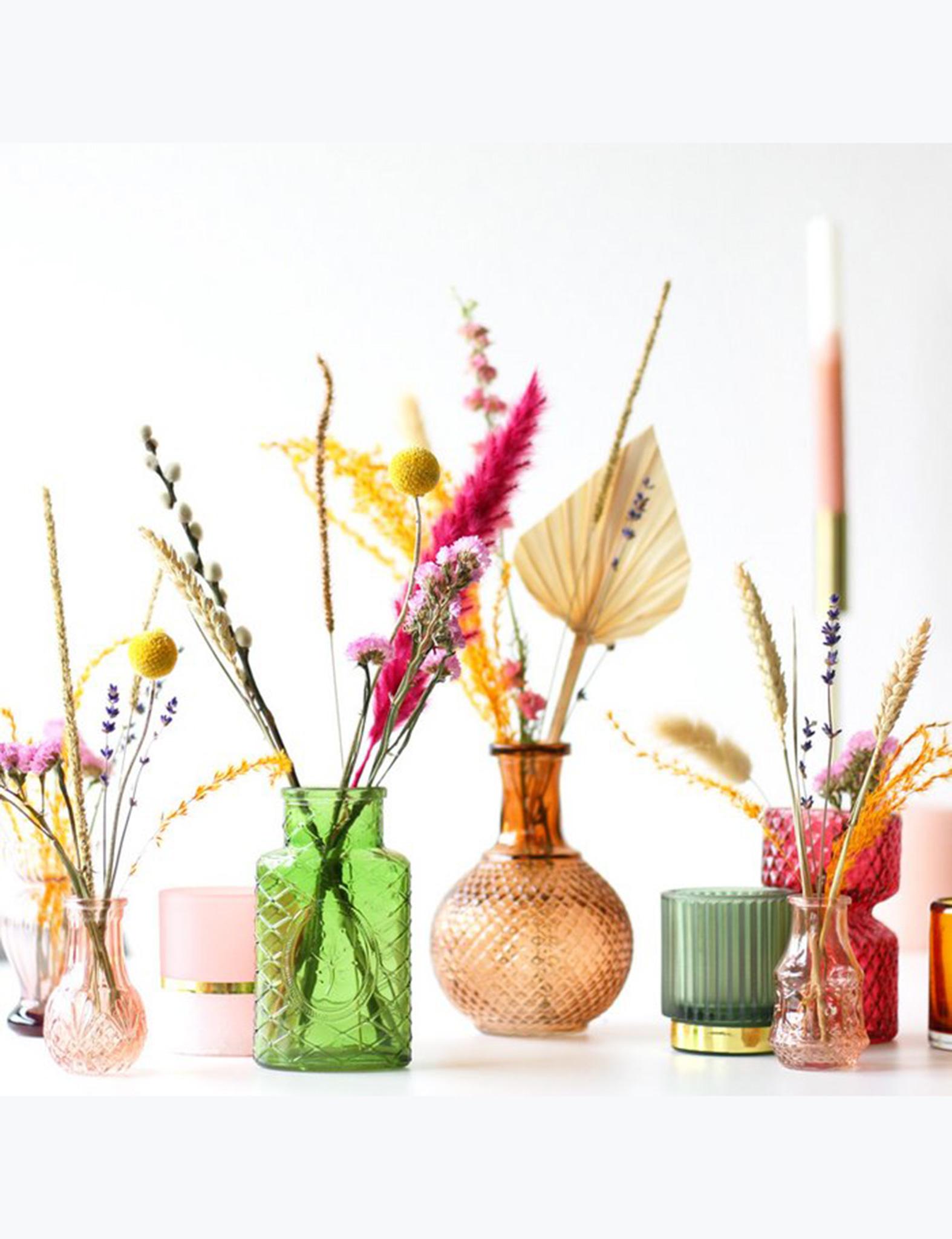 Boeket droogbloemen - kleur