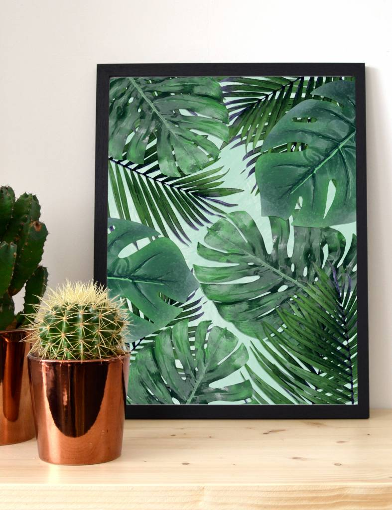 Poster botanical - Jungle