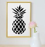 Poster - Ananas - 20 x 30 cm