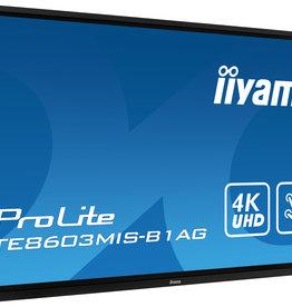 Iiyama 86 inch 4K iiyama touchscreen PROLITE TE8603MIS-B1AG